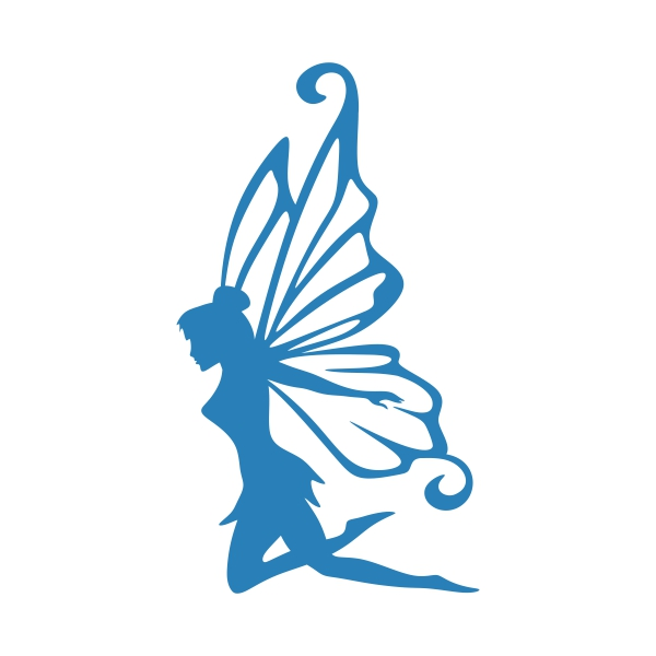 600x600 Fairy Silhouette Cuttable Design