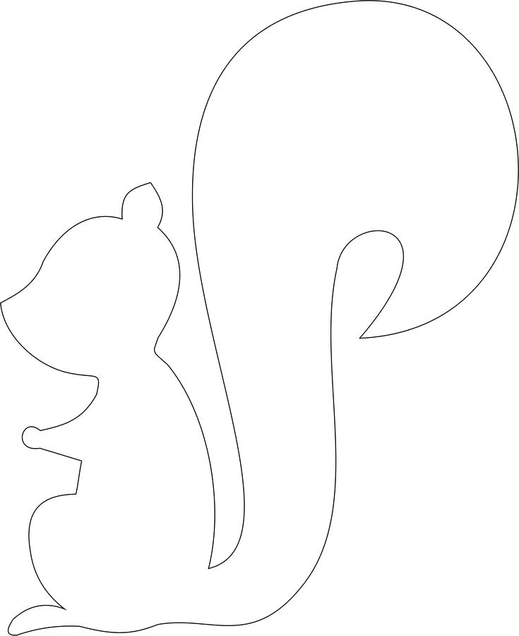735x900 Useful Squirrel Pattern Printable Images Of Craft Preschool Useful