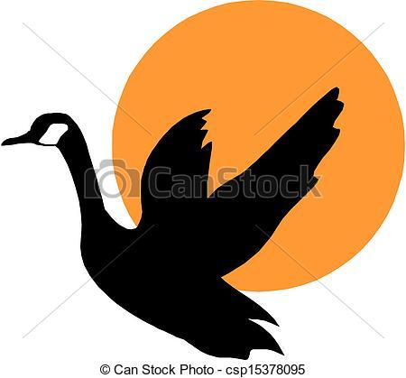 450x419 Vector Silhouette Flying Geese Eps Vectors