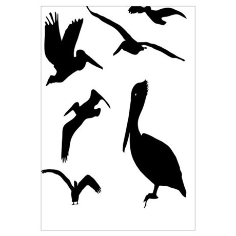 460x460 Fly Pelican Fly Scarface Wall Art
