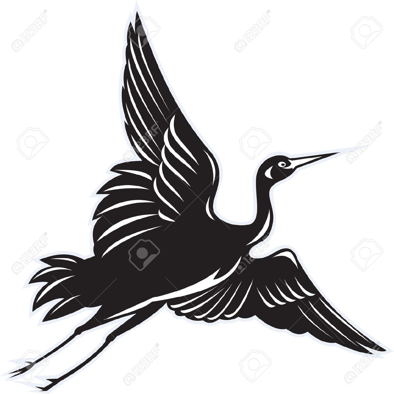 1298x1300 Egret Clipart Flying