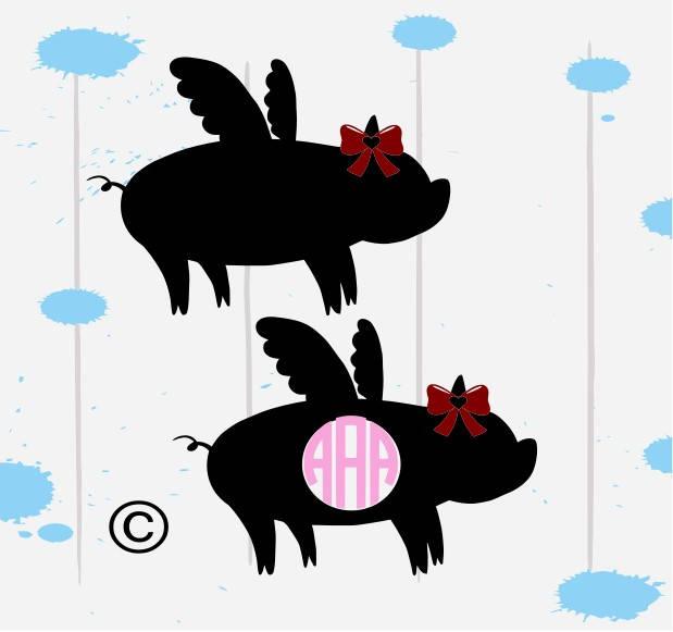 619x581 Show Pig Svg Pig Svg Flying Pig Svg Farm Animal Svg Pig