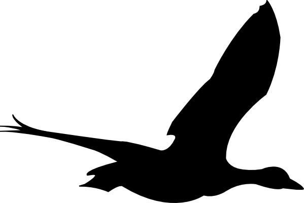 599x400 Flying Bird Clip Art Free Vector In Open Office Drawing Svg ( Svg