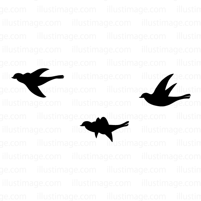 640x640 Free Flying Bird Silhouette Cartoon Amp Clipart