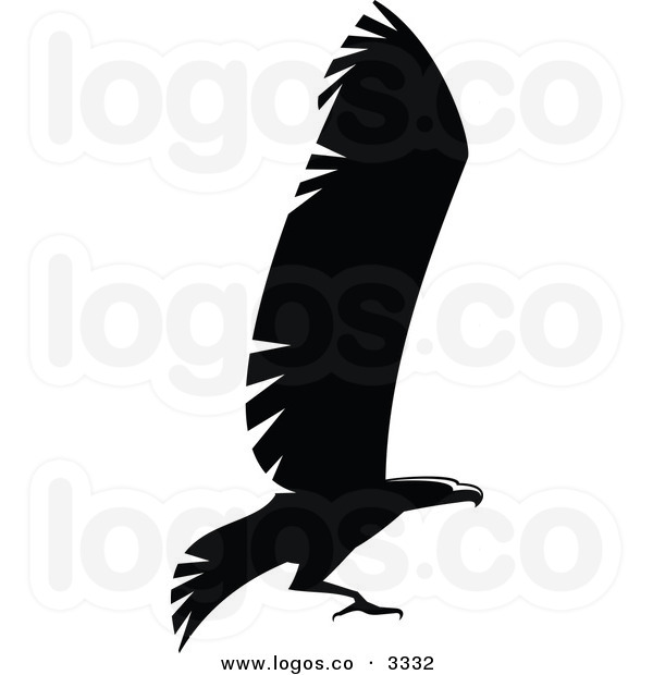 600x620 Eagle Flying Clipart Black And White Clipart Panda