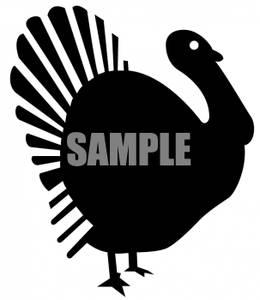 260x300 Turkey Silhouette
