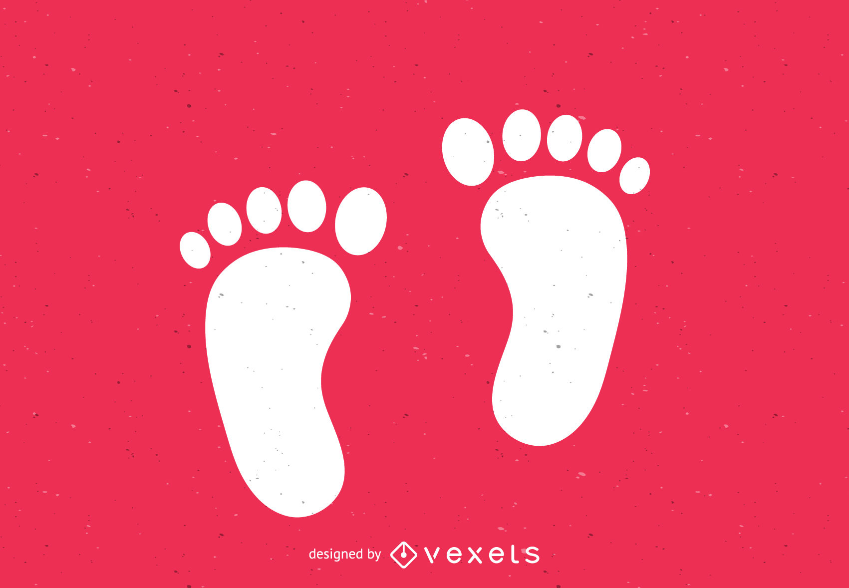 1701x1178 Bare Feet Footsteps Silhouette Print