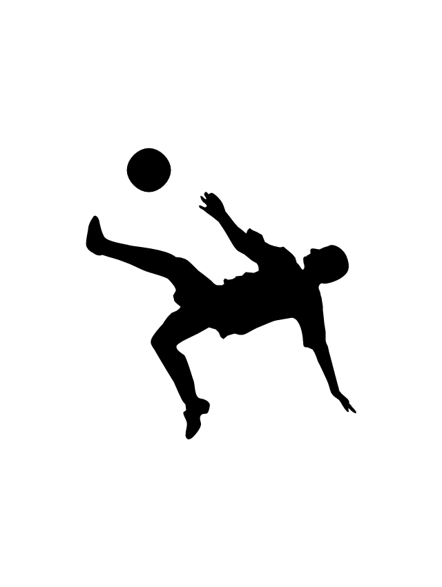 640x851 Football Silhouettes Design Elements