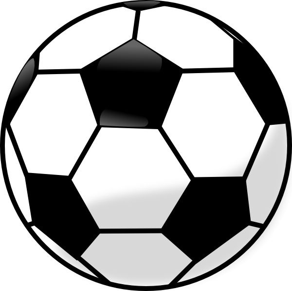 600x597 Soccer Ball Clip Art Free Vector In Open Office Drawing Svg ( Svg