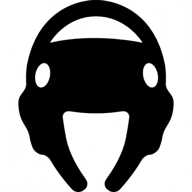 626x626 Taekwondo Helmet Silhouette Icons Free Download