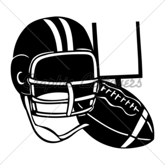 325x325 American Football Silhouettes Set Gl Stock Images