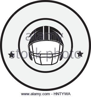 300x320 Circular Frame With American Football Helmet And Trophy Cup Vector