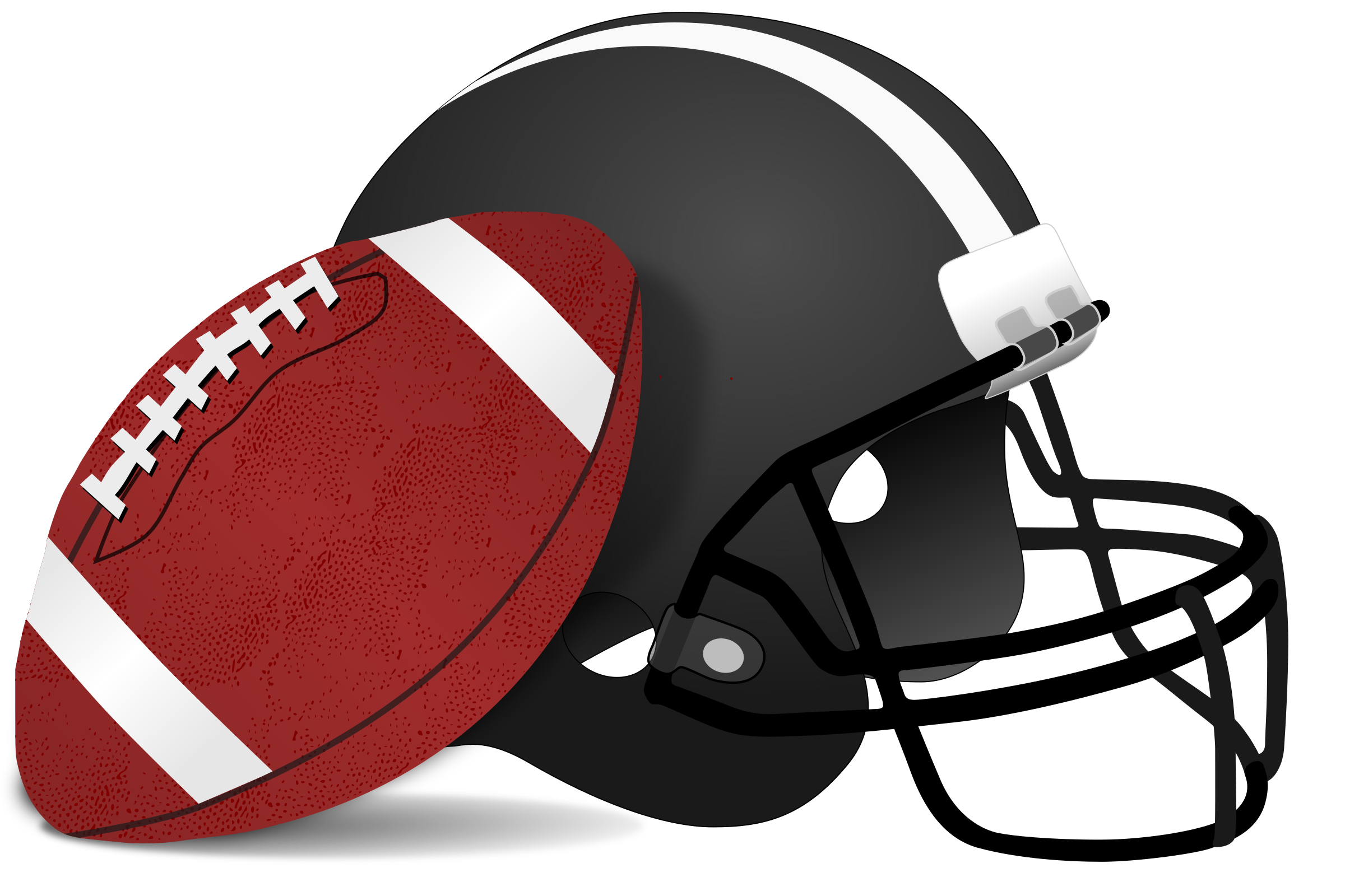 football helmet silhouette vector at getdrawings com free for rh getdrawings com  free football clipart pictures
