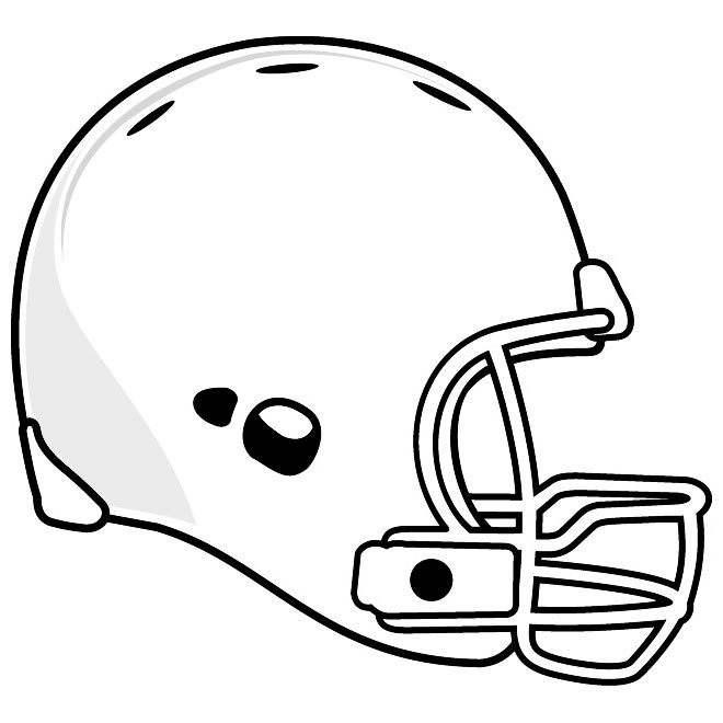 football helmet silhouette vector at getdrawings com free for rh getdrawings com