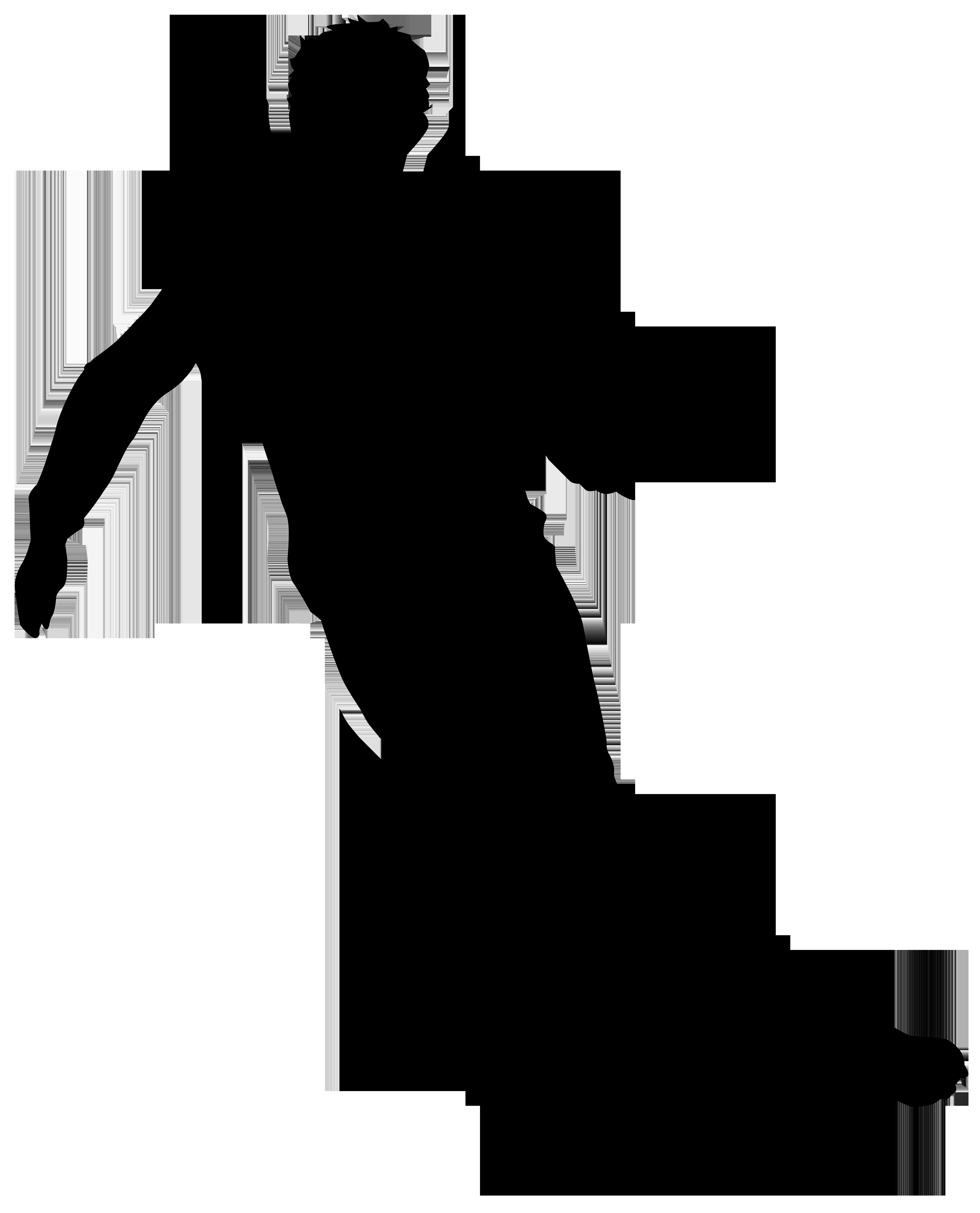 6468x8000 Football Player Silhouette Png Clip Art Imageu200b Gallery