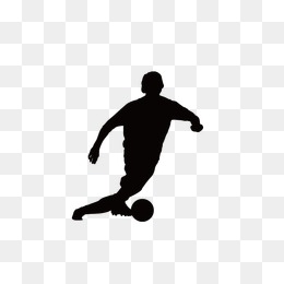 260x260 Football Player Silhouette Png, Vectors, Psd, And Icons For Free