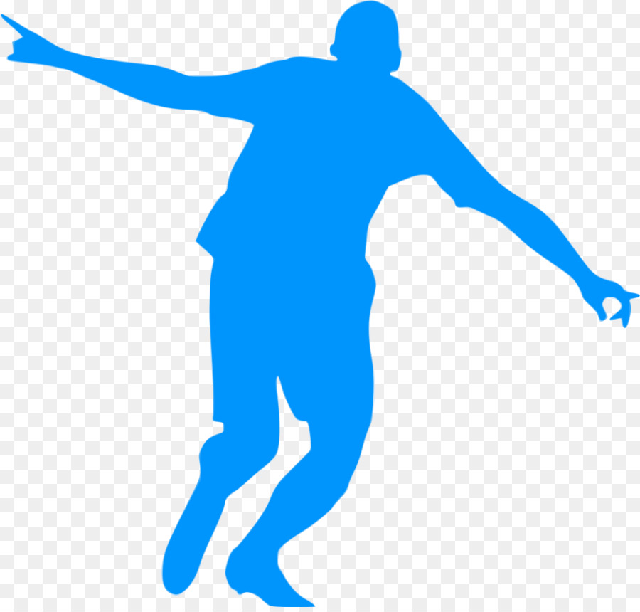 900x860 Football Player Silhouette Goal Clip Art