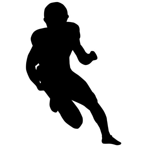 500x500 Compare Price To Football Player Silhouette Tragerlaw.biz
