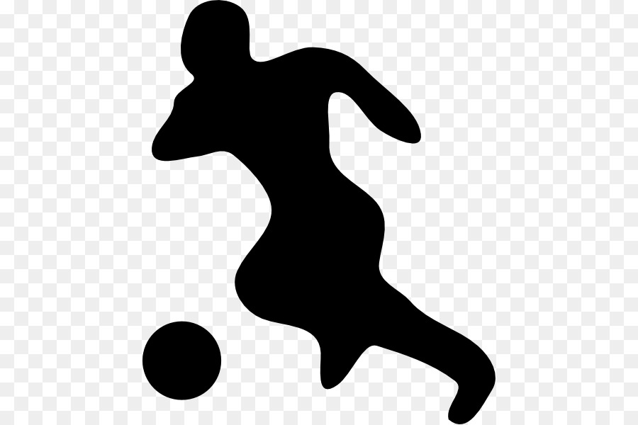 900x600 Football Player Silhouette Clip Art