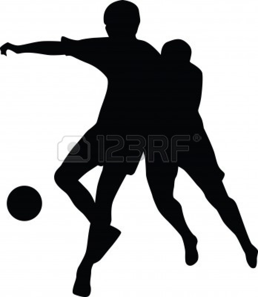 1044x1200 Silhouette Of Group Young American Football Players Standing