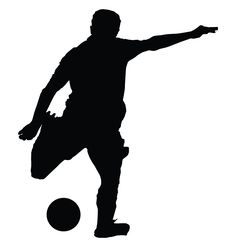 236x247 Soccer Silhouette Posing 4 Silhouettes Soccer