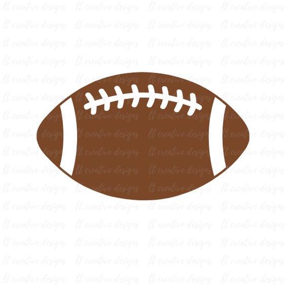 570x564 Football Svg Football Silhouette Football Png Football Cut