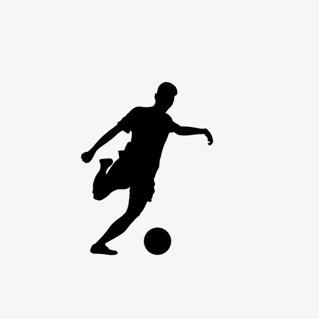 650x650 Football Silhouette Figures,vector, Sports, Sketch, Silhouette