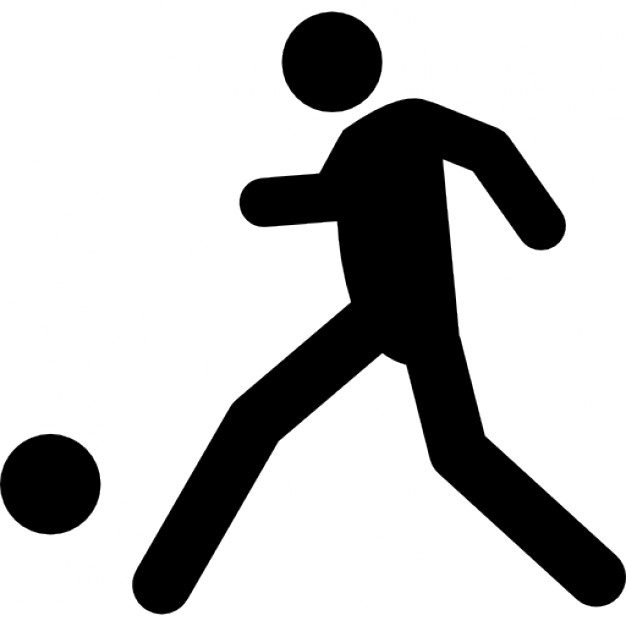 626x626 Football Player Kicking Ball Icons Free Download