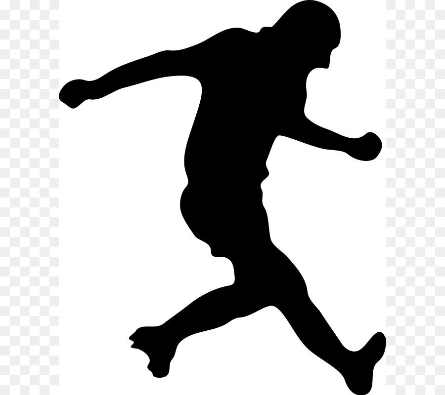 900x800 Football Player Silhouette Clip Art