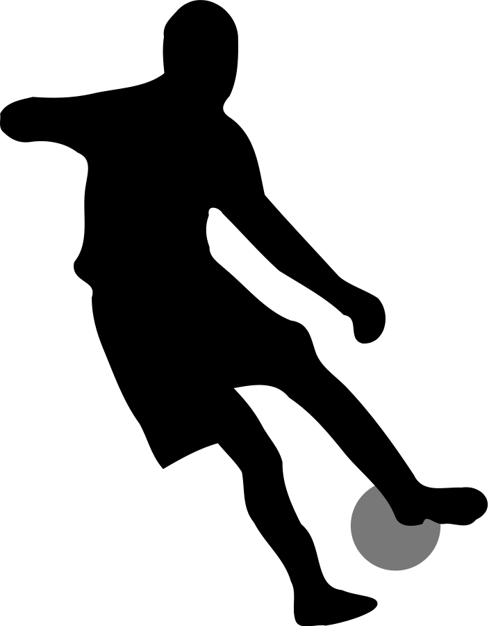 704x900 Simple Football Clipart
