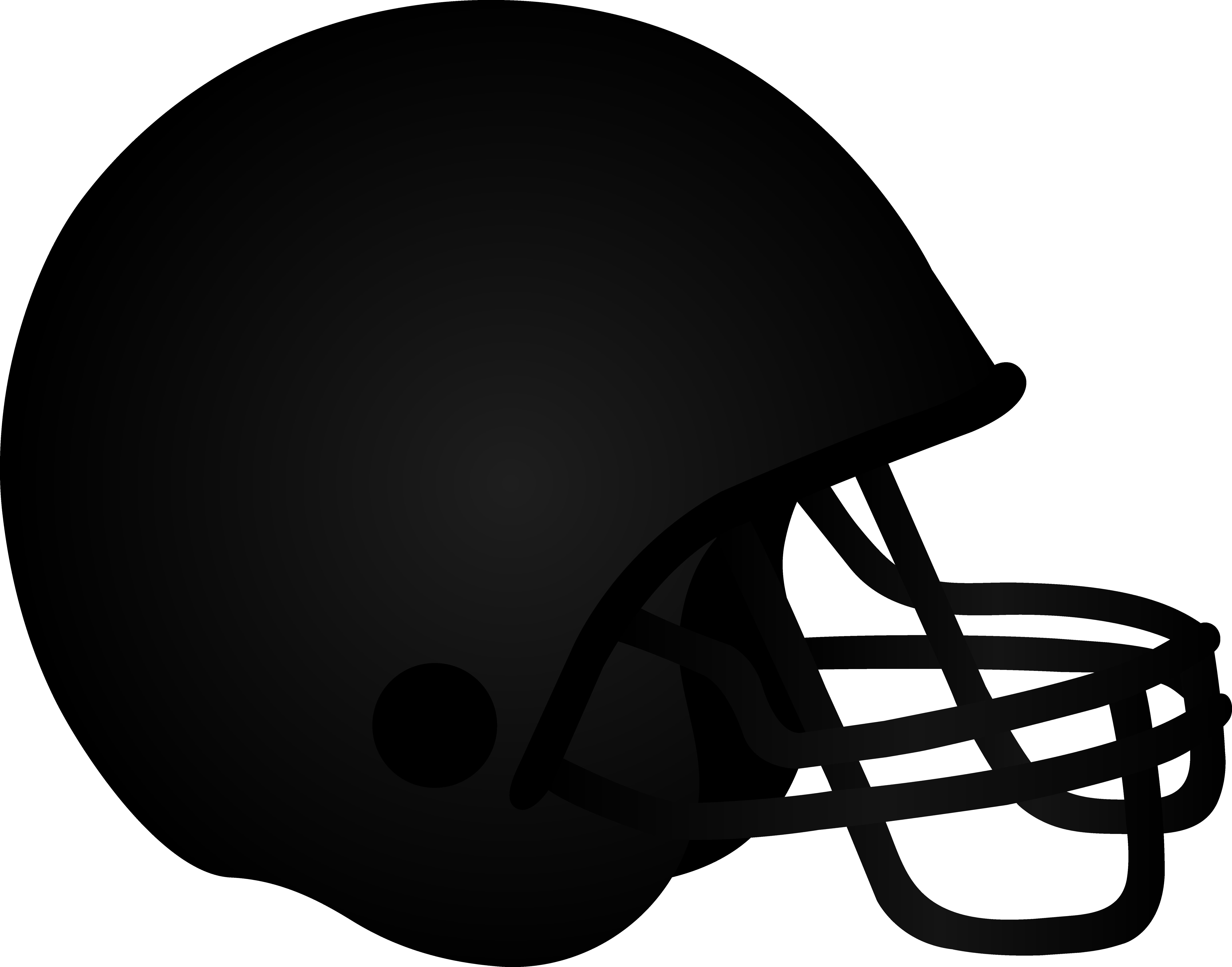 7362x5777 Black Football Helmet