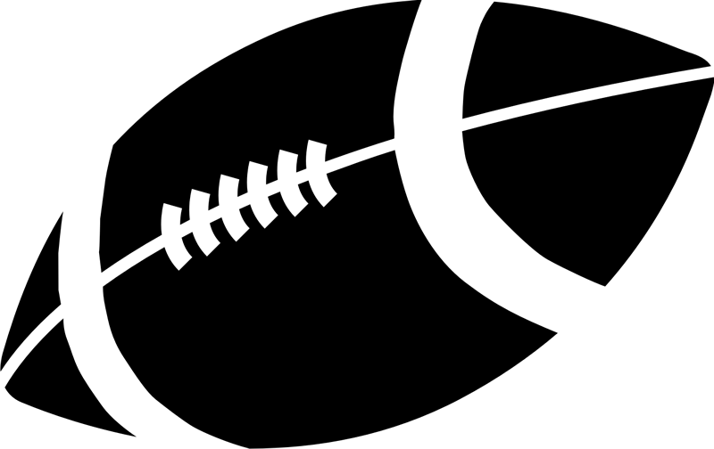 football silhouette clipart at getdrawings com free for personal rh getdrawings com