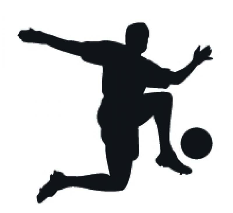 800x731 Football Silhouette Related Keywords Suggestions