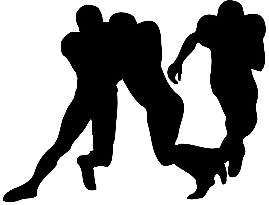 900x687 Image Of American Football Game Clipart