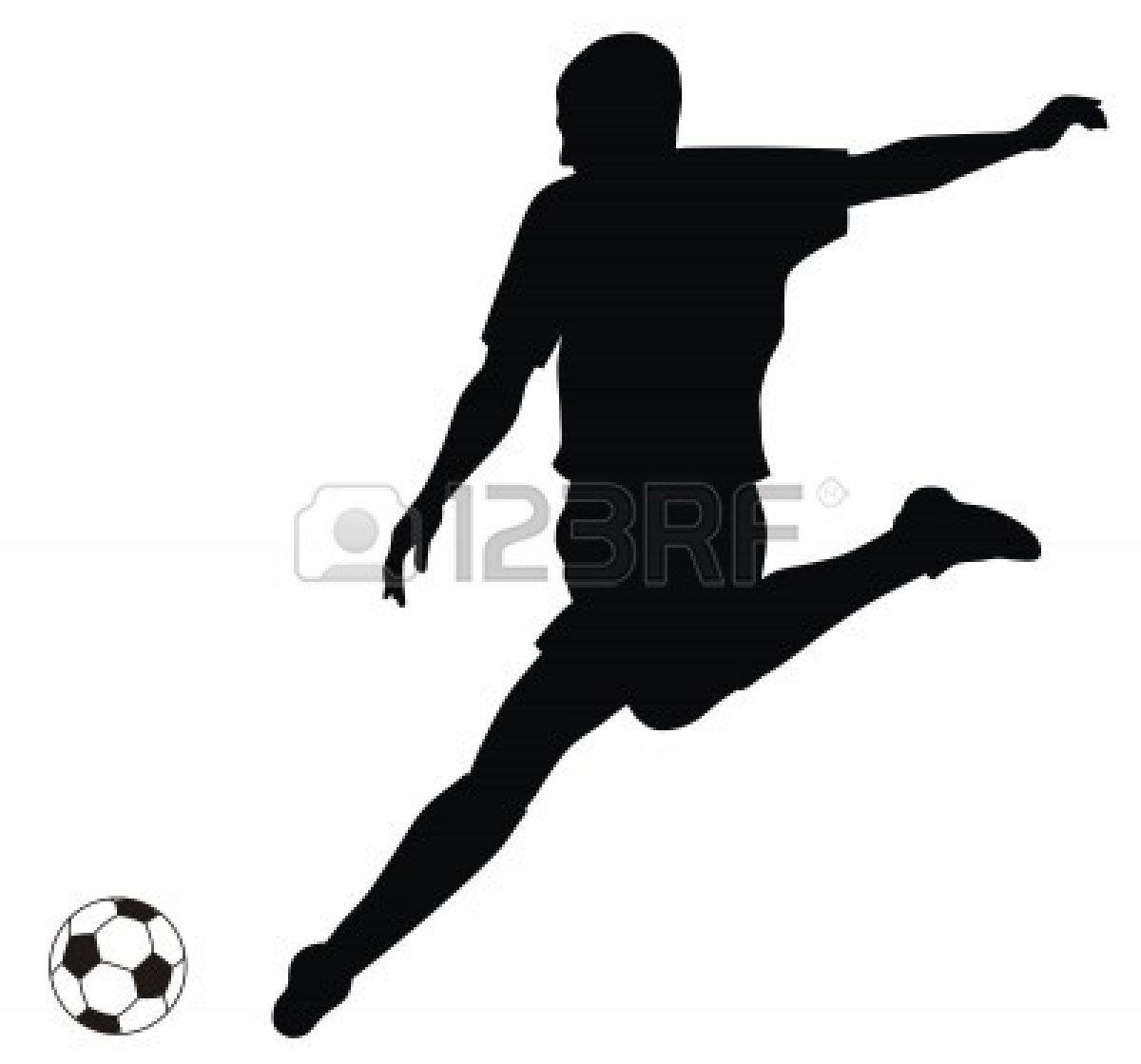 1200x1119 Soccer Football Players Silhouettes Boys Room Lively