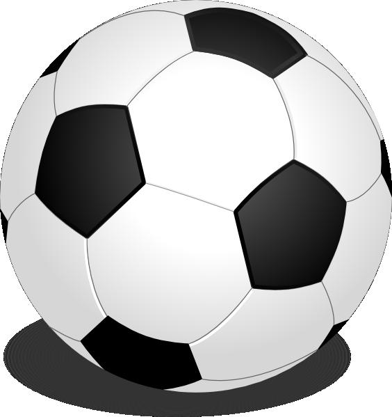 564x599 Flomar Football Soccer Clip Art Free Vector 4vector