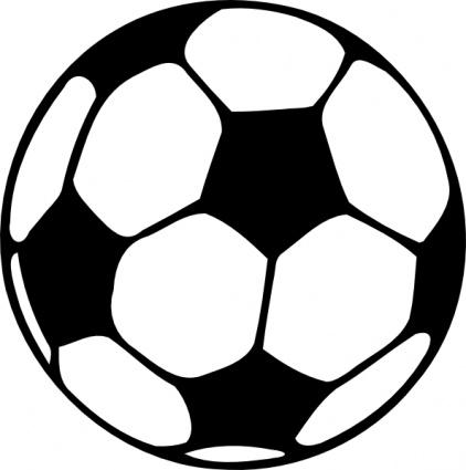 422x425 Football Ball Clip Art Vector, Free Vector Images