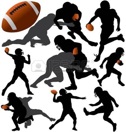 428x450 Image Result For Football Team Silhouette Inspirations For Cake
