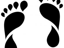 220x165 Footprint Silhouette Feet Footprint Free Vector Graphic On Pixabay