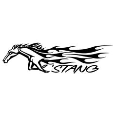 Ford mustang silhouette at free for personal use ford mustang silhouette of - Ford mustang logo outline ...