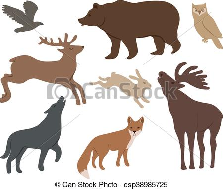 450x381 Wild Forest Clipart Vector Graphics. 30,348 Wild Forest Eps Clip