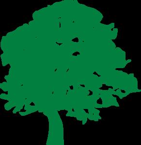 291x298 Green Tree Clip Art
