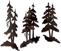 236x200 Pine Tree Silhouette Clipart
