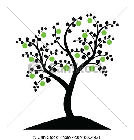 450x470 Apple Trees Vector Clip Art Eps Images. 11,330 Apple Trees Clipart