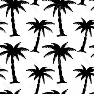 300x300 Silhouettes Of Palm Trees And Islands Vector Clipart Lazttweet
