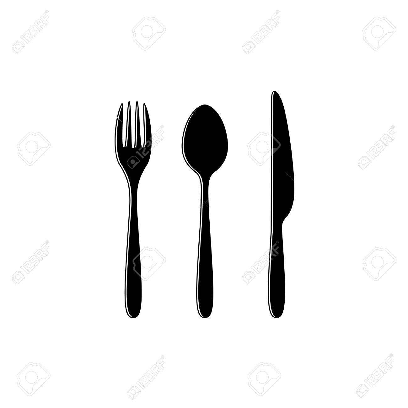 Fork Silhouette