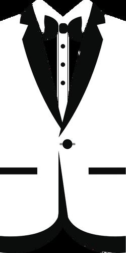 250x500 Tuxedo Silhouette Public Domain Vectors