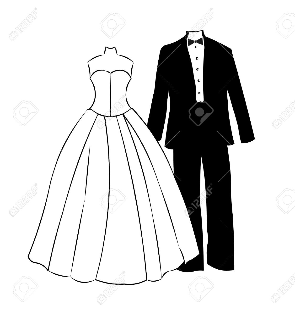 1235x1300 Wedding Dress Clipart Formal Dress Many Interesting Cliparts