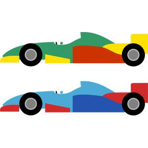 Formula 1 Silhouette