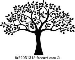 242x194 Free Tree Silhouette Art Prints And Wall Artwork Freeart